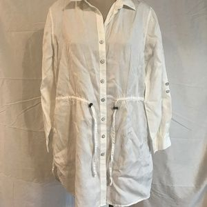 Coldwater Creek White Jacket Size Large